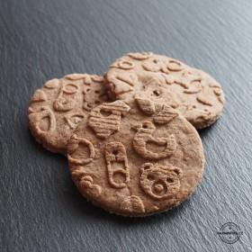 Babyshower - originální sušenky a vzorovaný váleček vyrobený z kvalitního bukového dřeva.