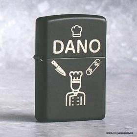 Originální Zippo zapalovač s gravírováním jména, věnování a obrázků